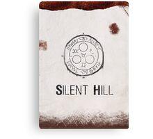 Silent Hill Minimalist Canvas Print