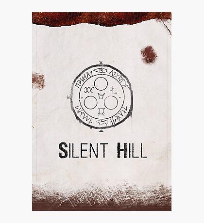 Silent Hill Minimalist Photographic Print