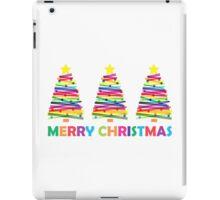 Colorful Christmas Trees iPad Case/Skin