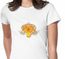 Sailor Moon's Eternal Compact Womens Fitted T-Shirt