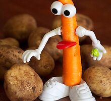 Mr Carrot wants to fit in by Melissa Dickson