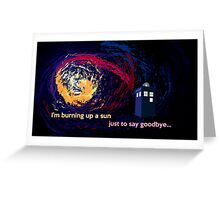 Doctor Who Doomsday Shirt Greeting Card