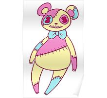 Patch bear Poster