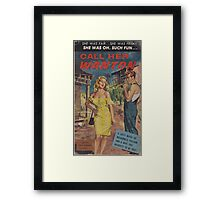 Call Her Wanton by Lon Williams Framed Print