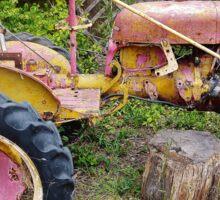 Old Farmall Tractor Sticker