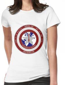 NROL 35 Launch Team Logo Womens Fitted T-Shirt