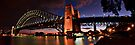 Night Falls on Sydney_Pano by Sharon Kavanagh