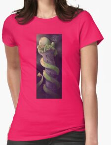 Sleepy Dragon Womens Fitted T-Shirt