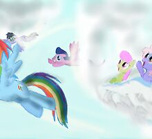 The flight of fancy by Rainbowcrasher