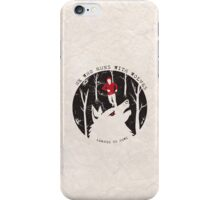 He Who Runs With Wolves iPhone Case/Skin