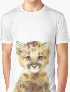 Little Mountain Lion Graphic T-Shirt