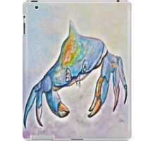 Color me Blue . . . And Speckled Too! iPad Case/Skin