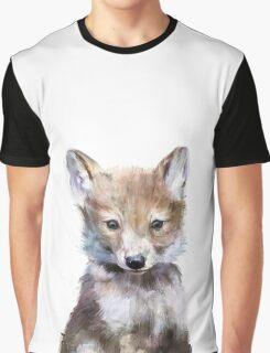 Little Wolf Graphic T-Shirt