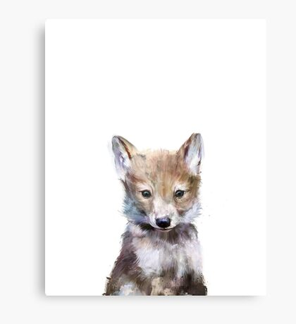 Little Wolf Canvas Print