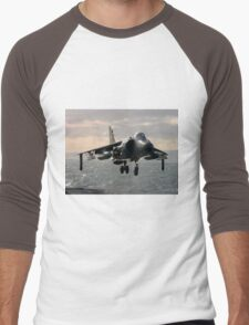 Sea Harrier Hovering Men's Baseball ¾ T-Shirt