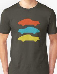 Three 911s.  Unisex T-Shirt