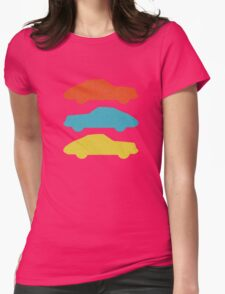 Three 911s.  Womens Fitted T-Shirt
