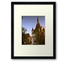 Castle Reflection, Budapest, Hungary Framed Print