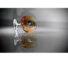 Brandy Glass Photographic Print
