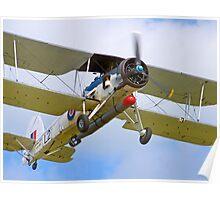 Fairey Swordfish II LS326 - Duxford Poster