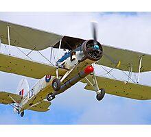 Fairey Swordfish II LS326 - Duxford Photographic Print