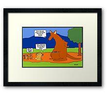 An Australian Easter Story Framed Print