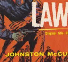 Bullet Law by Johnston McCulley Sticker