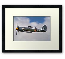 Sea Fury - Dunsfold - 2012 Framed Print