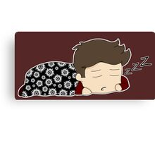 Sleepy Dean Canvas Print