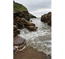 Turning Tide - Mewslade Bay Photographic Print