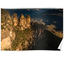 Three Sisters & Echo Point at Katoomba Poster