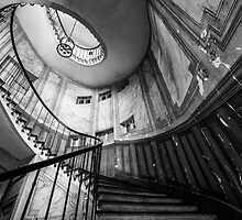 Parisian staircase  by KeithMcInnes