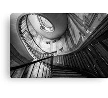 Parisian staircase  Canvas Print