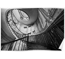 Parisian staircase  Poster