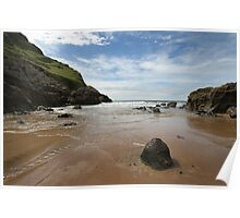 Mewslade Bay - Wales Poster