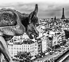 Gargoyle in Paris by KeithMcInnes
