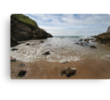 Mewslade Bay - Gower - Wales Canvas Print