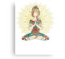 Yoga Om Chakras Mindfulness Meditation Zen 4 Metal Print