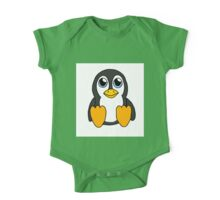 Little Penguin One Piece - Short Sleeve