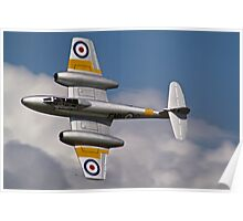 The Gloster Meteor - Dunsfold 2012 Poster