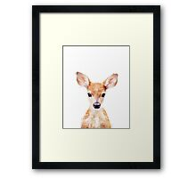 Little Deer Framed Print