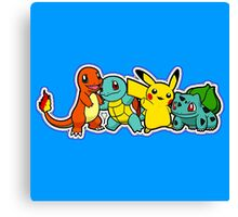 Pokemon First Generation Canvas Print