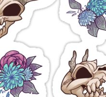 Flora and Fauna pattern Sticker