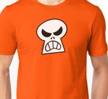 Angry Halloween Skull Unisex T-Shirt