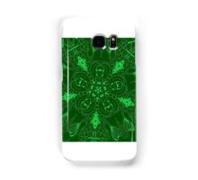 Green onions Samsung Galaxy Case/Skin