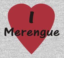 Dance - I Love Merengue T-Shirt & Top Kids Clothes