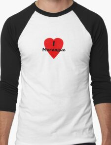 Dance - I Love Merengue T-Shirt & Top Men's Baseball ¾ T-Shirt