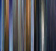 Moviebarcode: Appleseed / Appurushîdo (2004) by moviebarcode