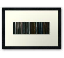 Moviebarcode: Harry Brown (2009) Framed Print