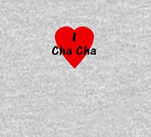 Dance - I Love Cha Cha Cha Camisa T-Shirt Women's Fitted Scoop T-Shirt